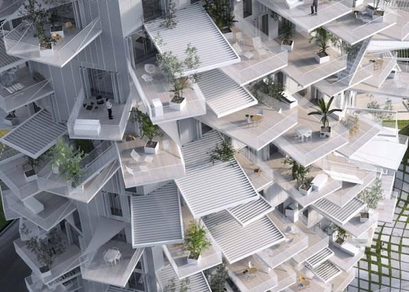 Quando l 39 architettura segue le forme della natura 39 l for Architetto giapponese