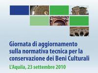 Giornata di aggiornamento sulla normativa tecnica per la conservazione dei Beni Culturali