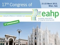 17� Congresso della European Association of Hospital Pharmacists (EAHP)