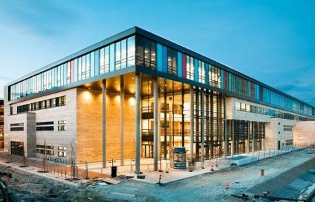 La Vagen High School a Sandnes in Norvegia (Link Arkitektur)