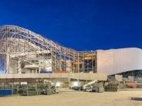 Il nuovo Velodrome di Marsiglia in corso di costruzione (Scau Architects)