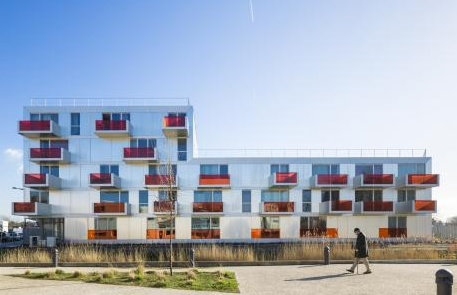 Grand Synthe, come il social housing cambia il volto di Dunkerque (Philippe Dubus Architecte)