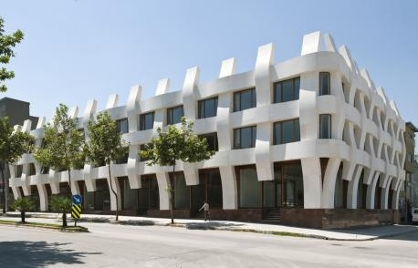 Argul Weave, una facciata come un cesto di vimini in Turchia (Binaa, Smart-Architecture)