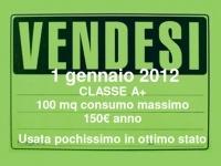 Annunci di vendita: dal 1° gennaio 2012 obbligo di indicare la prestazione energetica