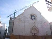 News: Riapre al culto la Cattedrale di Conversano - Tra i gioielli del romanico pugliese, la chiesa e' tornata a splendere grazie alla pulizia delle facciate e a un tetto nuovo