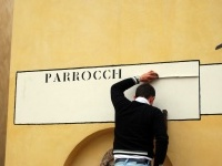 Al restauro i nizioleti veneziani