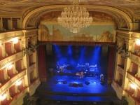 News: Teatro Pergolesi, restauri per 1,8 milioni di euro - Inaugurata la piattaforma mobile per il palcoscenico