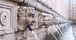 Inizia il restauro della Fontana delle 99 Cannelle a L'Aquila