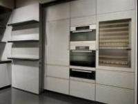 News: Calyx, la cucina a scomparsa firmata Armani - Presentata in occasione del Salone Internazionale del Mobile di Milano da poco concluso, Calyx � la cucina firmata Armani e realizzata in collaborazione con Dada.