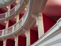 varie: Il Teatro Mercadante di Altamura tra conservazione e funzionalita' -   All�intervento di restauro si unisce la costruzione di un nuovo edificio accostato alla struttura storica. Il progetto ha vinto, nella categoria
