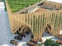 News: Per Expo 2015, la Francia presenta un padiglione in legno riutilizzabile  -  Porta la firma di X-Tu Architects e si presenta come un'architettura essenziale, dalle linee fluide. Un grande mercato di 2.000 metri quadri su 3.600 mq di giardino lussureggiante