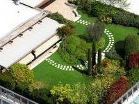 ambiente: Tetti giardino: una rivoluzione verde per le citta' ecologiche del futuro -   Il verde pensile e il costruire sostenibile al centro del convegno dell'Associazione nazionale architettura bioecologica