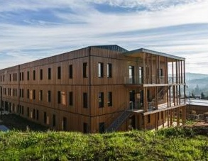� in legno il primo complesso per uffici passivo di Francia