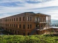 News: Edilizia in legno: il primo complesso per uffici passivo di Francia - Il parco terziario Ensoleille' a Aix-en-Provence e' connesso a un sistema impiantisco ad alte prestazioni energetiche