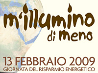 M'illumino di meno 2009