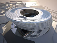 Progetto spaziale per il tribunale di Madrid
