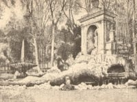 Novecento: Villa Borghese - Non v'ha forse altro luogo, come nella romana villa Borghese, dove la magnificenza della Roma dei papi si sia maggiormente affermata e serbi attestati piu' eletti del suo splendore